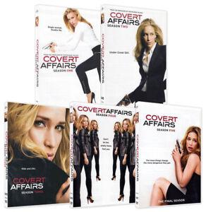 Covert Affairs: Season 1 - 5 (The Complete Ser New DVD