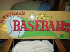 Deluxe Baseball By Western Backglass. Shipping is available