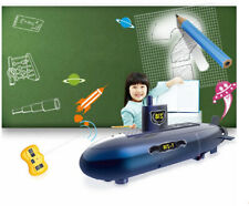 UPgraded 6 channels RC submarine The best kids Education Assembly Toy