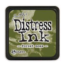 Distress Mini Ink Pad-forest Moss - Tim Holtz Pad Ranger Forest