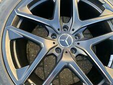 "21"" MERCEDES G WAGON CLASS G63 AMG MY19 black alloy wheels pirelli tyres RRP 5K"