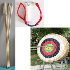 Multifunction Bow / Archery Slingshot+5 Arrows Catapult Powerful Hunting Fishing