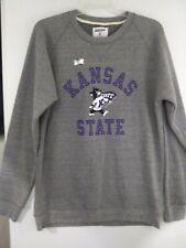 Kansas K State University Wildcats Sweatshirt Size Women's 2X Gray NEW KSU