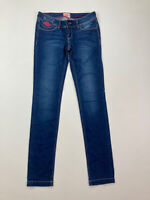 SUPERDRY CIGARETTE SLIM Jeans - W26 L32 - Blue - Great Condition - Women's