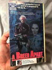 A Breed Apart (VHS, 1984) Rutger Hauer, Kathleen Turner RARE OUT OF PRINT HTF