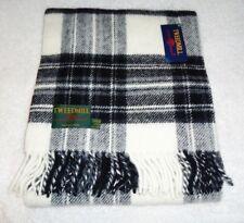 b88c3e39719 Plaid-châle Anglais 100% pure laine gris Tweedmill
