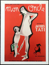 MON ONCLE 1958 FILM MOVIE POSTER PAGE . JACQUES TATI . MY UNCLE . 536