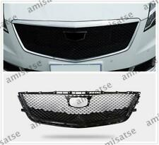 Front Mesh Radiator Grill Upper Grille For 2016 2017 2018 Cadillac CT6 Black AS