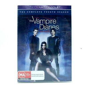 The Vampire Diaries - Season 4 (DVD, Region 4, 2012)