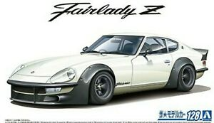 AOSHIMA 06101 1/24th SCALE DATSUN S30 FAIRLADY Z 1975 PLASTIC MODEL CAR KIT