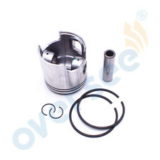 For TOHATSU Outboard 25/30 HP Piston Kit - 0.50 346-00004-1 with Piston Ring