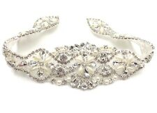A Grade Bridal Sash Belt Wedding Dress Sash Belt Rhinestone Dress Belt