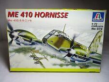 Italeri 1/72 German WW2 ME 410 Hornisse (No.074)