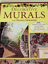 Murales Decorativos Donna Dewberry libro de cubierta suave 1999 proyectos de pintura de casa