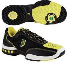 Prince Mens Black Yellow Rebel 2 LS Tennis Shoes [8P383084] UK 8 EU 42