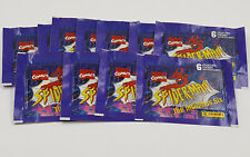 Spider-man Marvel Comics Panini Insidious Six Lot of 11 Sticker Packs