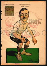 SOCCER FOOTBALL C1925 URUGUAY ARGENTINA  ORIGINAL PERIOD PRINTS
