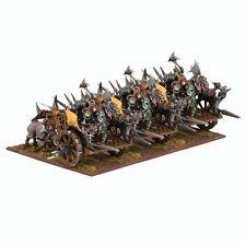 Mantic Games Kings of War NUOVO CON SCATOLA ORC lotta CARRO REGGIMENTO mgkwo106