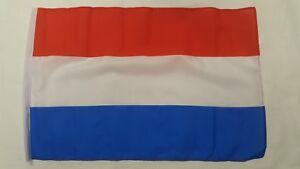 """Netherlands Flag 18"""" X 12"""" Treehouse Courtesy Caravan Sleeved Flags"""