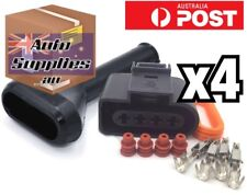 4 Set VW Audi Ignition Coil Connector & Boot 1J0973724 Golf Polo R8 A4 A6 A8