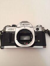 Canon AE-1 35mm SLR Film Camera Body. AS IS SEE DESCRIPTION