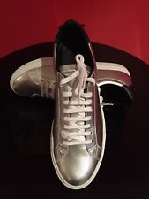 New Men's Givenchy Urban Street Sneakers / Silver/Metallic / EU44 / US11 / $550