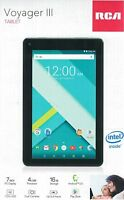 "RCA Voyager III (3) 7"" 16GB Tablet Android Black (RCT6973W43) - LIKE NEW ™"