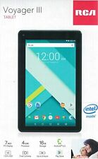 """RCA Voyager III (3) 7"""" 16GB Tablet Android Black (RCT6973W43) - FREE SHIPPING ™"""