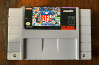 NFL Football (Super Nintendo Entertainment System, 1993)  game only