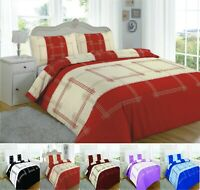 Luxuries CAMPUS Printed Duvet Quilt Cover + Pillow Case Bedding Set All Size