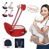 Newborn Baby Carrier Waist Stool Infant Front Sling Belt Straps Walking    L0