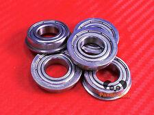 [10PC] SF688zz (8x16x5 mm) Stainless Flanged Ball Bearing Bearings F688zz 8 16 5