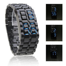 Montre LED Edition Cobra Unisexe Sans Cadran Homme Lava Quartz Digital Watch