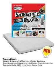 Sello bloque 110mmx110mmx10mm (precio básico QM 410,74 €) para los motivos de impresión & sello