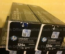 HP 125A CB540A X2  BLACK TONER CARTRIDGES CP1215 CM1312MFP CP1515N VAT INCLUDED