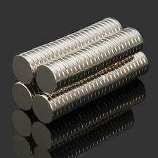 100pcs 10mm x 2mm NdFeB Super Strong Disc Magnets Rare Earth Neodymium N52 Grade
