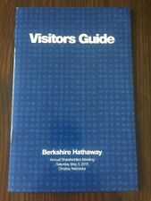 2018 Berkshire Hathaway Annual Shareholders Meeting Visitors Guide Buffett