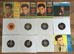 Elvis Presley | Sammlung 15 Singles - verschiedene Pressungen