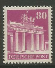 STAMPS-ALLIED OCCUPATION. 1948. 80pf  Perf 14. SG: A129a. Mint Never Hinged.