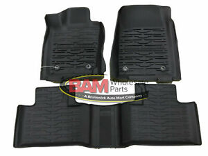 2016-2021 New Jeep Grand Cherokee All Weather Slush Mats Bucket Style Mopar OEM