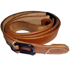 JAPANESE WWII GENERAL PURPOSE LEATHER RIFLE SLING, CZECH VZ 24 RIFLE - REPLICA