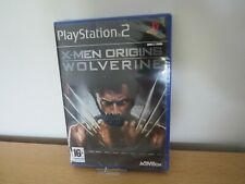 PlayStation 2  X-Men Origins: Wolverine  ps2  new sealed  UK PAL
