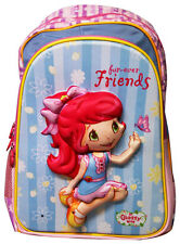Childrens Kids Girls 3D Image with light Backpack School Bag Rucksack Shoulder