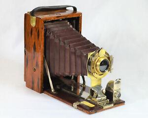 FOLDING CAMERA KODAK POCKET PREMO C 105-117YRS OLD. c. 1904-1916 CUSTOM ETIMOE