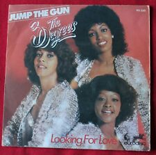 The Three Degrees, jump the gun / looking for love,  SP - 45 tours