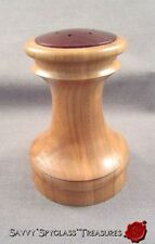 Brad Sears Woodturning Cherry Wood #2715-A Salt Shaker