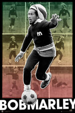 Bob Marley football New maxi poster 61cmx91.5cm lp1404 136