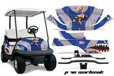 Club Car Precedent Golf Cart Graphic Kit Wrap Parts AMR Racing Decal P40 WARHAWK