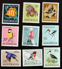 Austrailia SC403-411 Mostly Birds Issued 1956 MLH