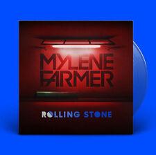 VINYLE BLEU MAXI 12'' MYLENE FARMER ROLLING STONE BLUE EDITION NEUF SOUS BLISTER